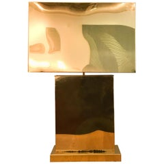 Curtis Jere Monumental Table Lamp