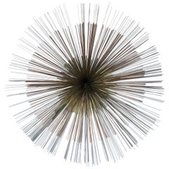 "Curtis Jere ""Pom Pom"" Metal Wall Sculpture"