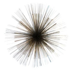 Curtis Jere Pompom Sunburst Wall Sculpture
