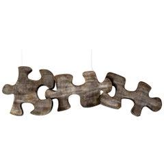 Curtis Jere Puzzle Sculpture