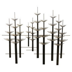 Large Modern Abstract Wall Sculpture