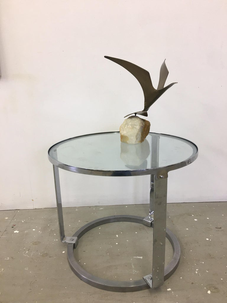 Curtis Jere Seagull on Marble Base For Sale 1