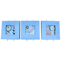 Curtis Jere Shadow Boxes Modern Wall Artwork
