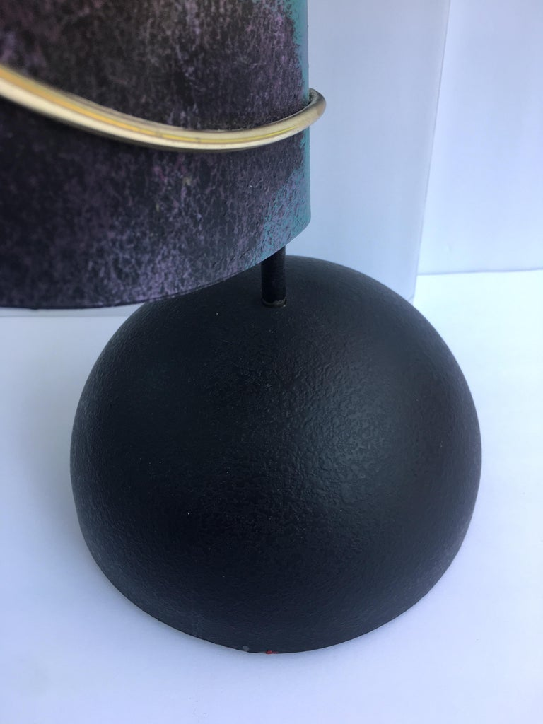 Curtis Jere Sphere and Circle Table Sculpture, 1990s For Sale 3