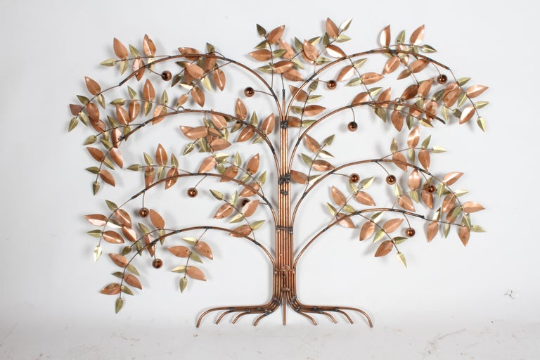 Curtis Jere Tree of Life Sculpture, circa 1977 For Sale 2