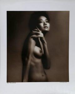 Miwa Shirren Nude Model Portrait by Curtis Knapp