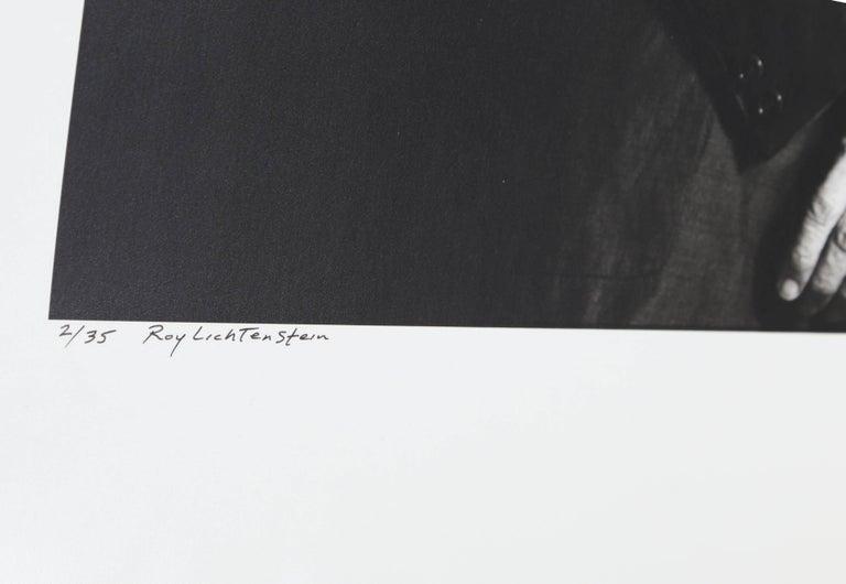 Roy Lichtenstein Photo Portrait by Curtis Knapp For Sale 1