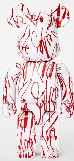 Curtis Kulig Love Me Bearbrick 400% Signed by artist (Love Me BE@RBRICK)
