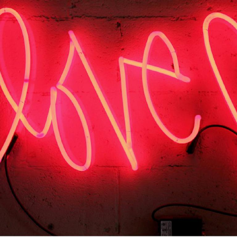 Curtis Kulig Love Me Large Neon Sculpture For Sale At
