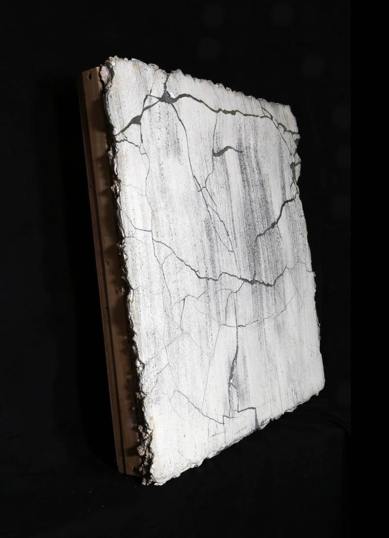 Broken Wall - Sculpture by Curtis Mitchell