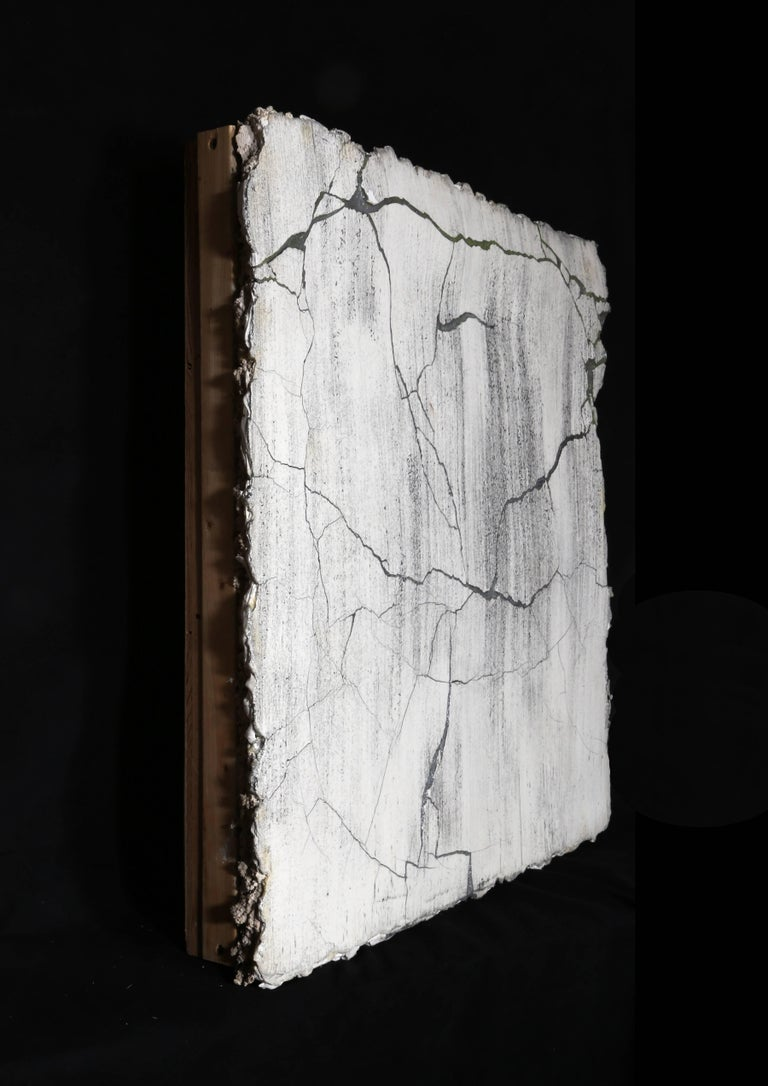 Broken Wall - Conceptual Sculpture by Curtis Mitchell