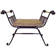 Curule X Frame Metal Chair