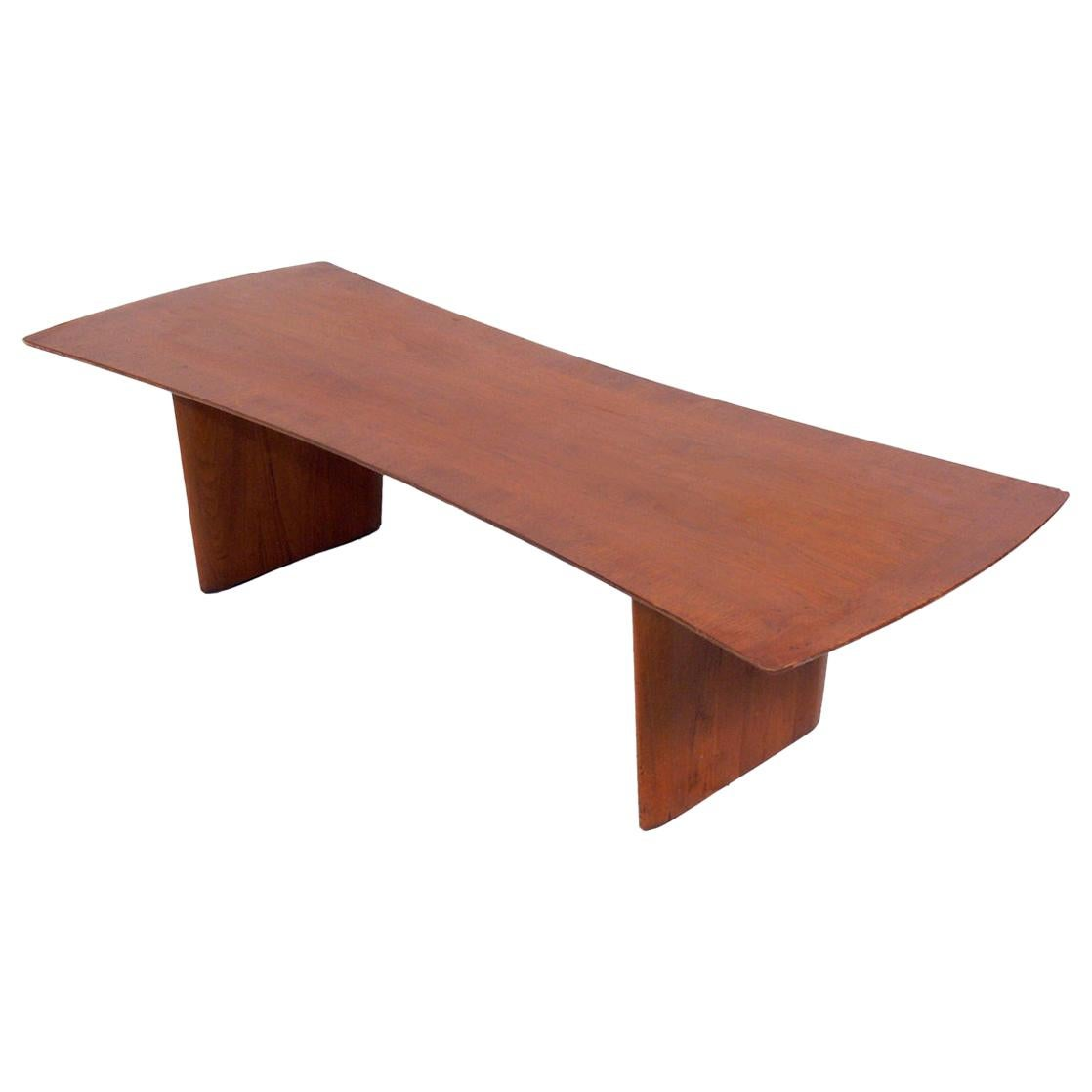 Curvaceous Coffee Table by T.H. Robsjohn Gibbings