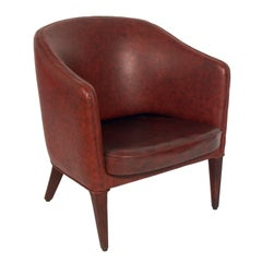 Curvaceous Danish Modern Chair