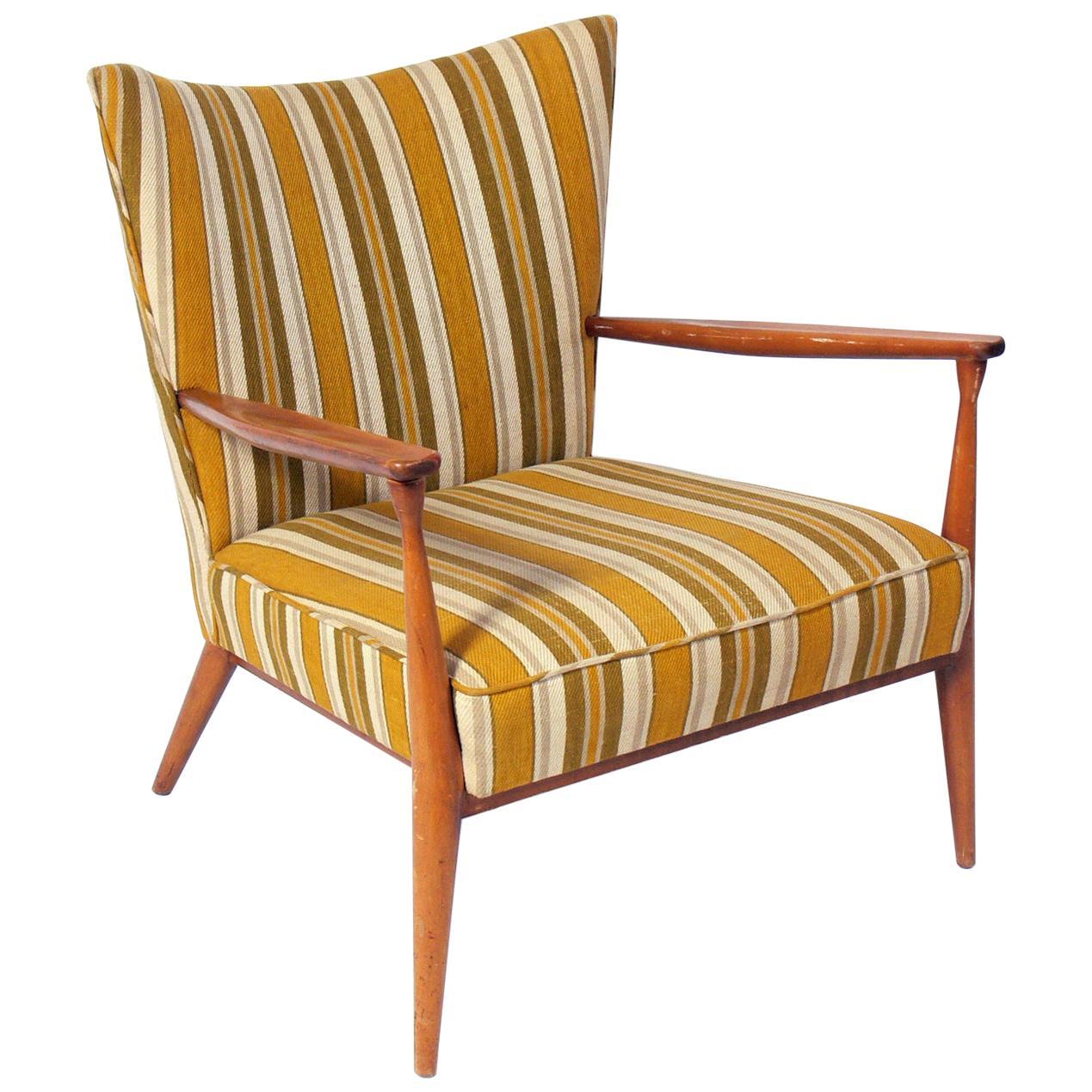 Curvaceous Paul McCobb Lounge Chair