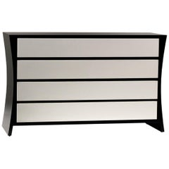 Curve Contemporary Chest of Drawers