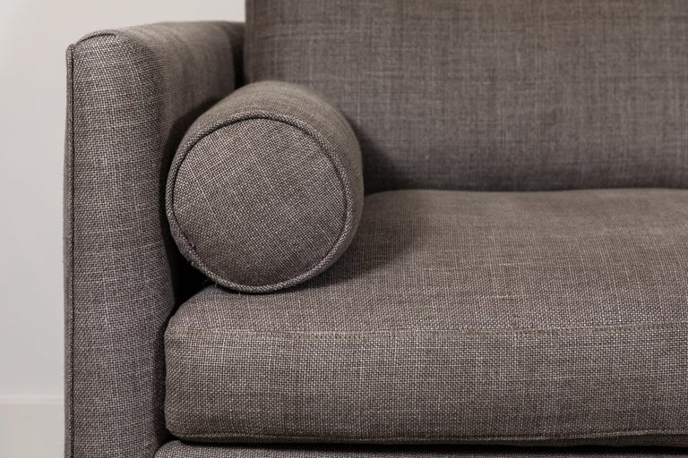 Mid-Century Modern Curved Back Sofa by Lawson-Fenning For Sale