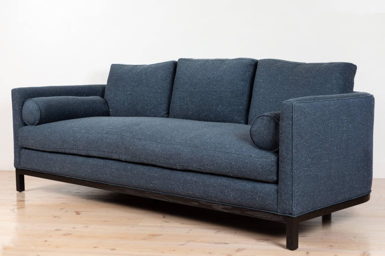 Contemporary Curved Back Sofa by Lawson-Fenning For Sale