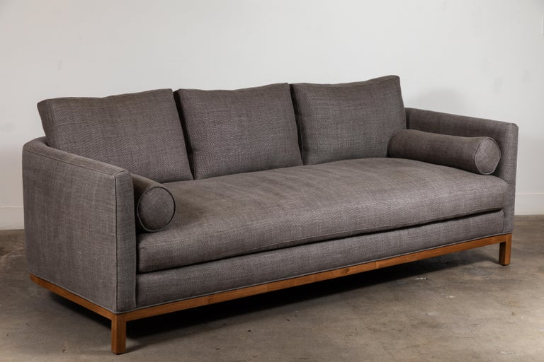 Curved Back Sofa by Lawson-Fenning For Sale 1