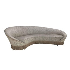 Curved Sofa Ico Parisi, Italy, 1958