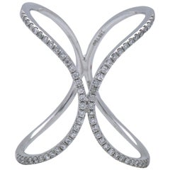 "Curved ""X"" Ring"