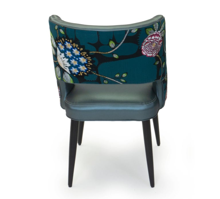 Curvy High Back Dining Room Chairs For Sale 2