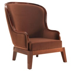 Curzon Medium Armchair in Velvet