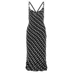 Cushnie et Ochs Beaded Silk-Chiffon Midi Dress