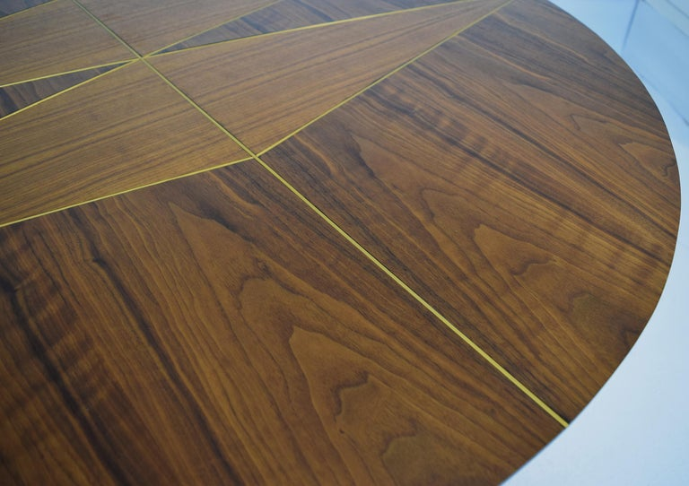 Mid-Century Modern Custom Dinette Table after Gio Ponti For Sale