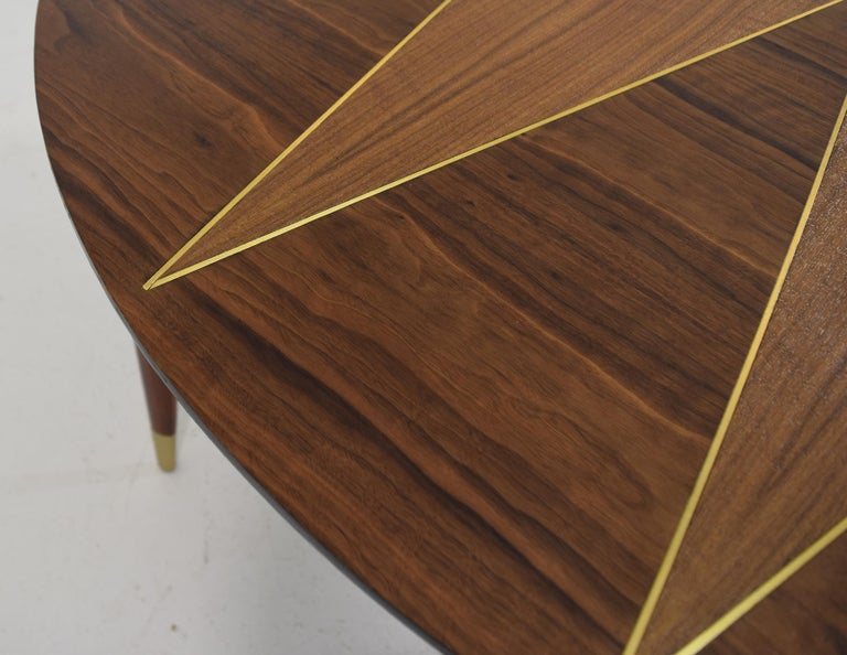 Custom Dinette Table after Gio Ponti In Excellent Condition For Sale In South Charleston, WV