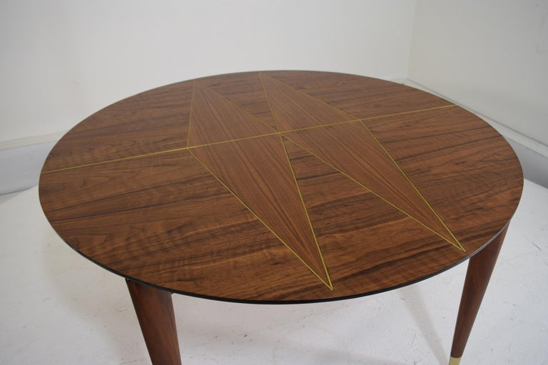 Mid-20th Century Custom Dinette Table after Gio Ponti For Sale
