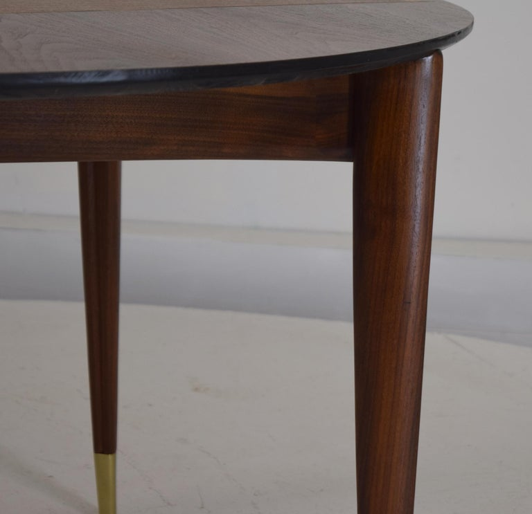 Custom Dinette Table after Gio Ponti For Sale 2