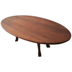 Custom Solid Mahogany Dining Table