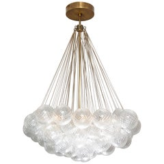 Murano Floating Clustered Globe Chandelier