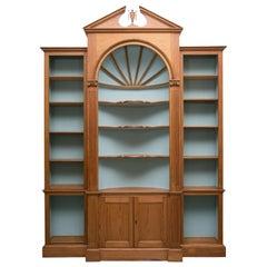 Custom American Pine Bookcase