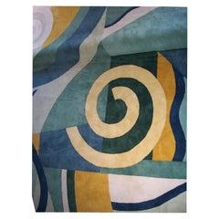 Custom Art Deco Style Rug