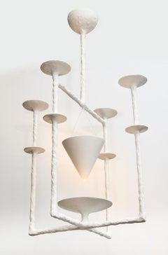 "Custom ""Aura,"" Hanging Fixture by Alexandre Logé"