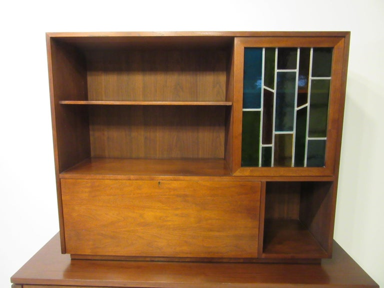 Custom Bar Cabinet / Credenza in the Style of Midcentury Jens Risom 3