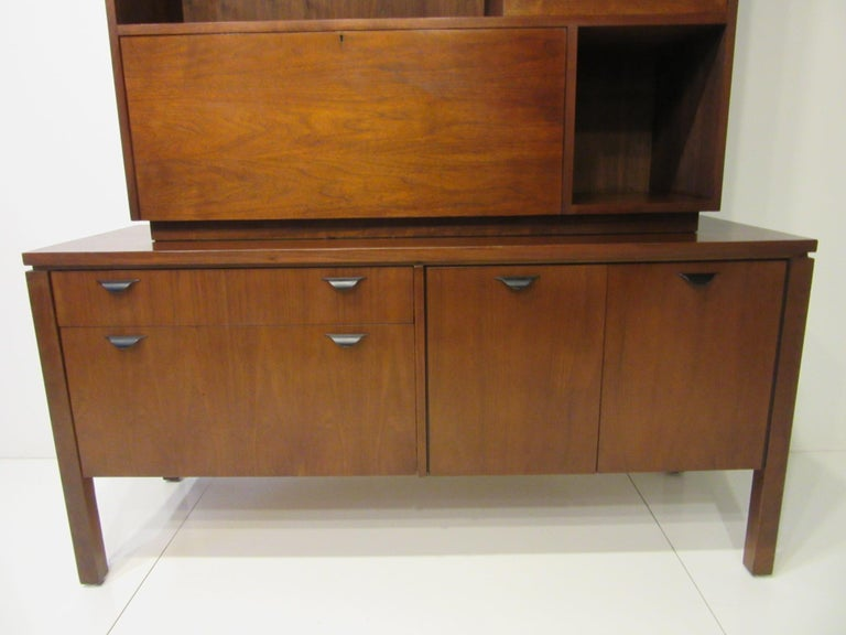 Custom Bar Cabinet / Credenza in the Style of Midcentury Jens Risom 4