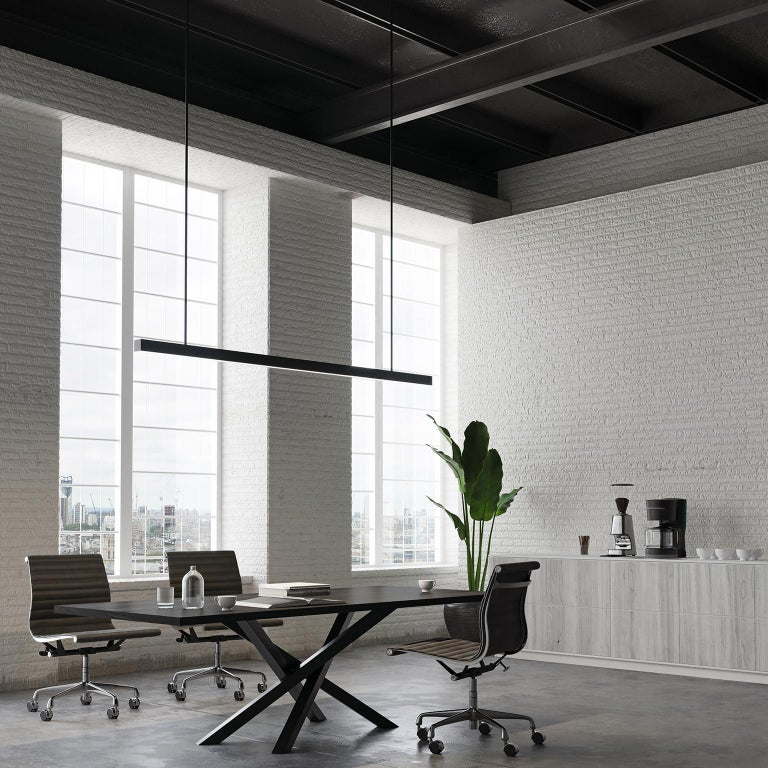 Two things that make a great meeting table are versatility and style. This modern meeting table has both in spades: efficient and flexible seating around a beautiful sculptural pedestal base.  The biggest draw of a pedestal meeting table is the