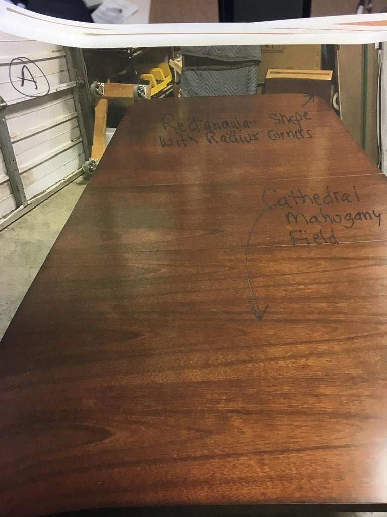 Custom Cathedral Mahogany Georgian Style Dining Table by Leighton Hall For Sale 4