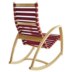 Custom Color Plybent Maple Rocking Chair by Peter Danko, Made in USA