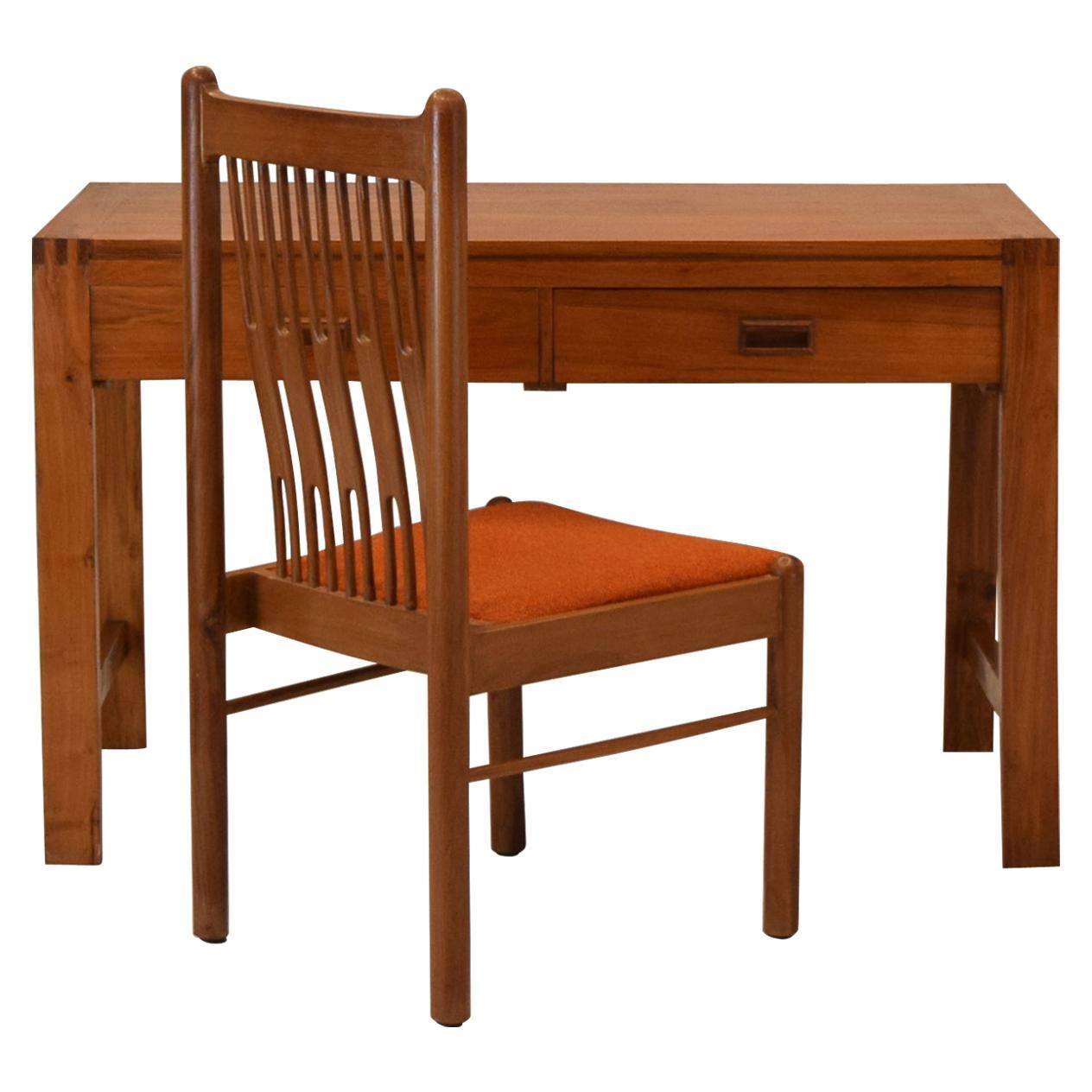 Custom Danish Desk and Chair