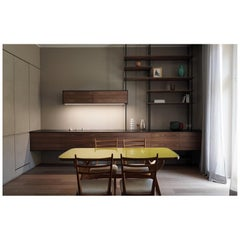 Custom Design Giacomo Moor Contemporary Kitchen / Grid 01