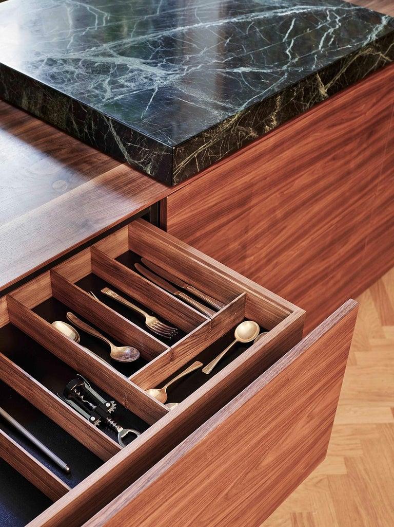 Italian Custom Design Giacomo Moor Contemporary Kitchen / Mesin 02 For Sale