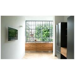 Custom Design Giacomo Moor Contemporary Kitchen / Oblò