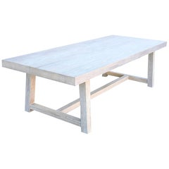 Custom Dining Table made from Reclaimed Pine, Made to Order by Petersen Antiques