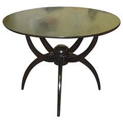 "Custom Ebonized ""Spider Table"""