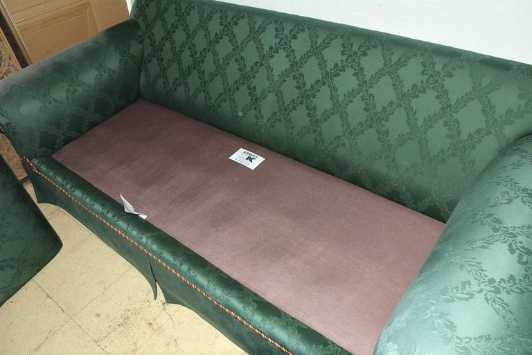 Custom English Style Rolled Arm Sofa For Sale 4