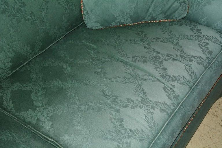 Fabric Custom English Style Rolled Arm Sofa For Sale